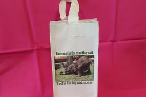 Canvas Bottle Tote Bag 3