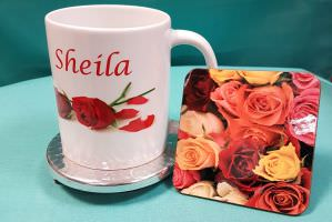 Mug and Coaster Set 6